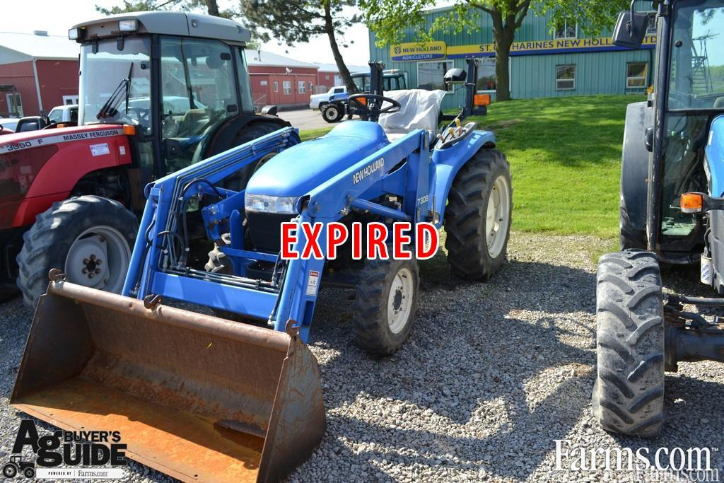 2001 new holland tc33d loader tractor for sale farms com