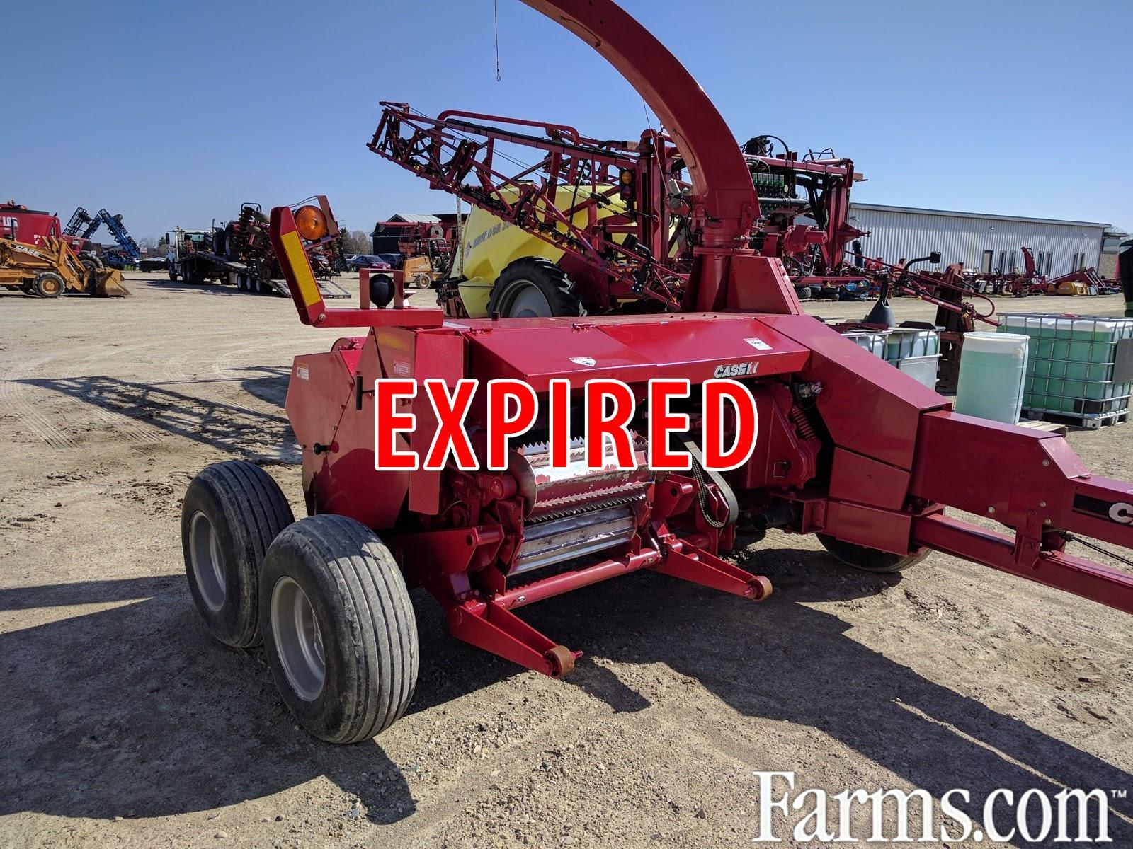 Case IH 2012 FHX300 Forage Harvesters