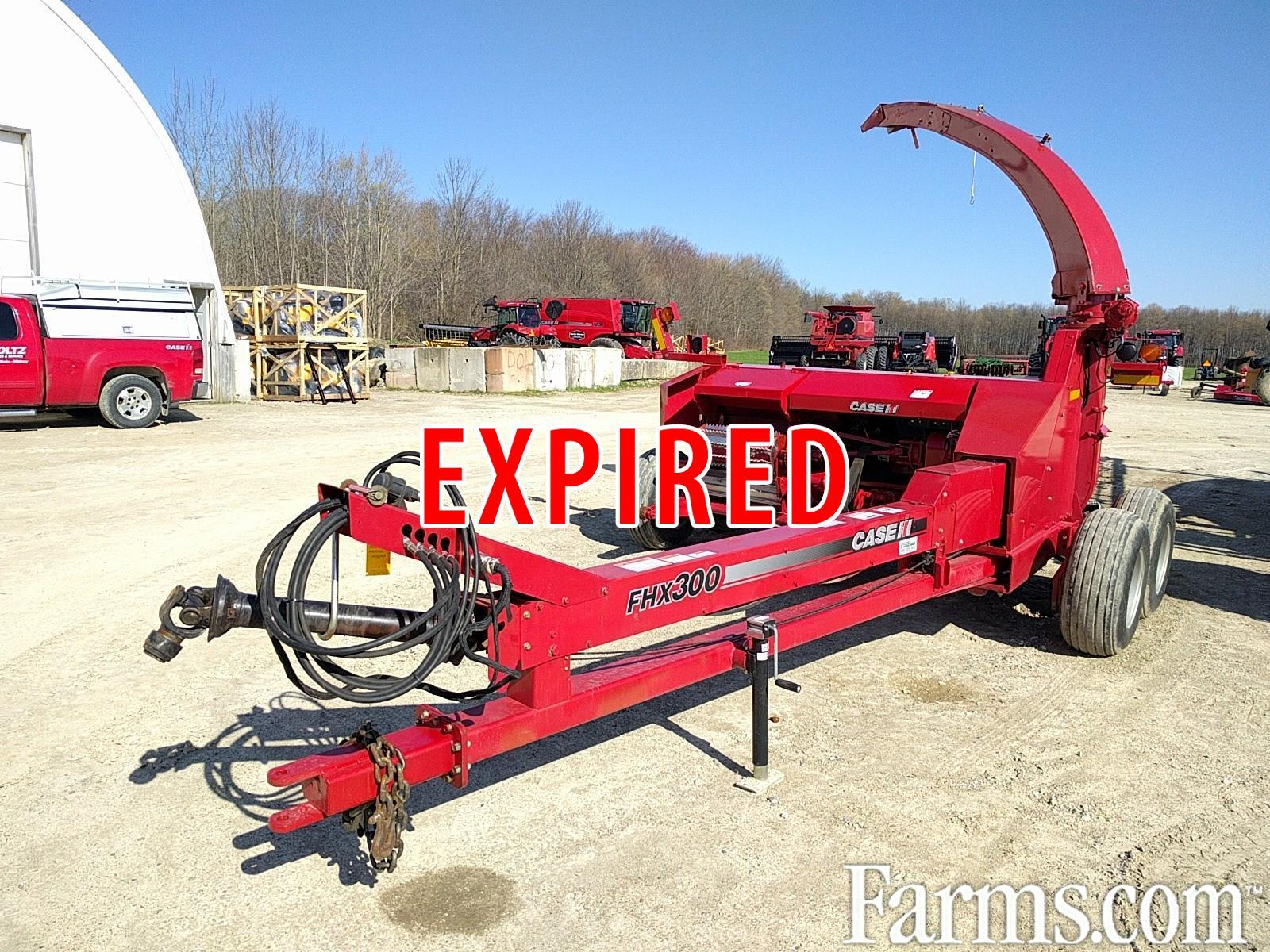 Case IH 2012 FHX300 Forage Harvesters