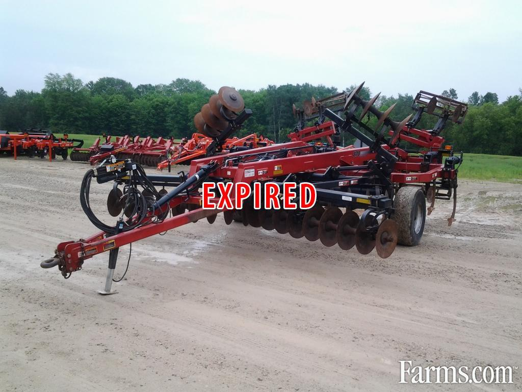 Case IH 2009 870 Plows / Rippers