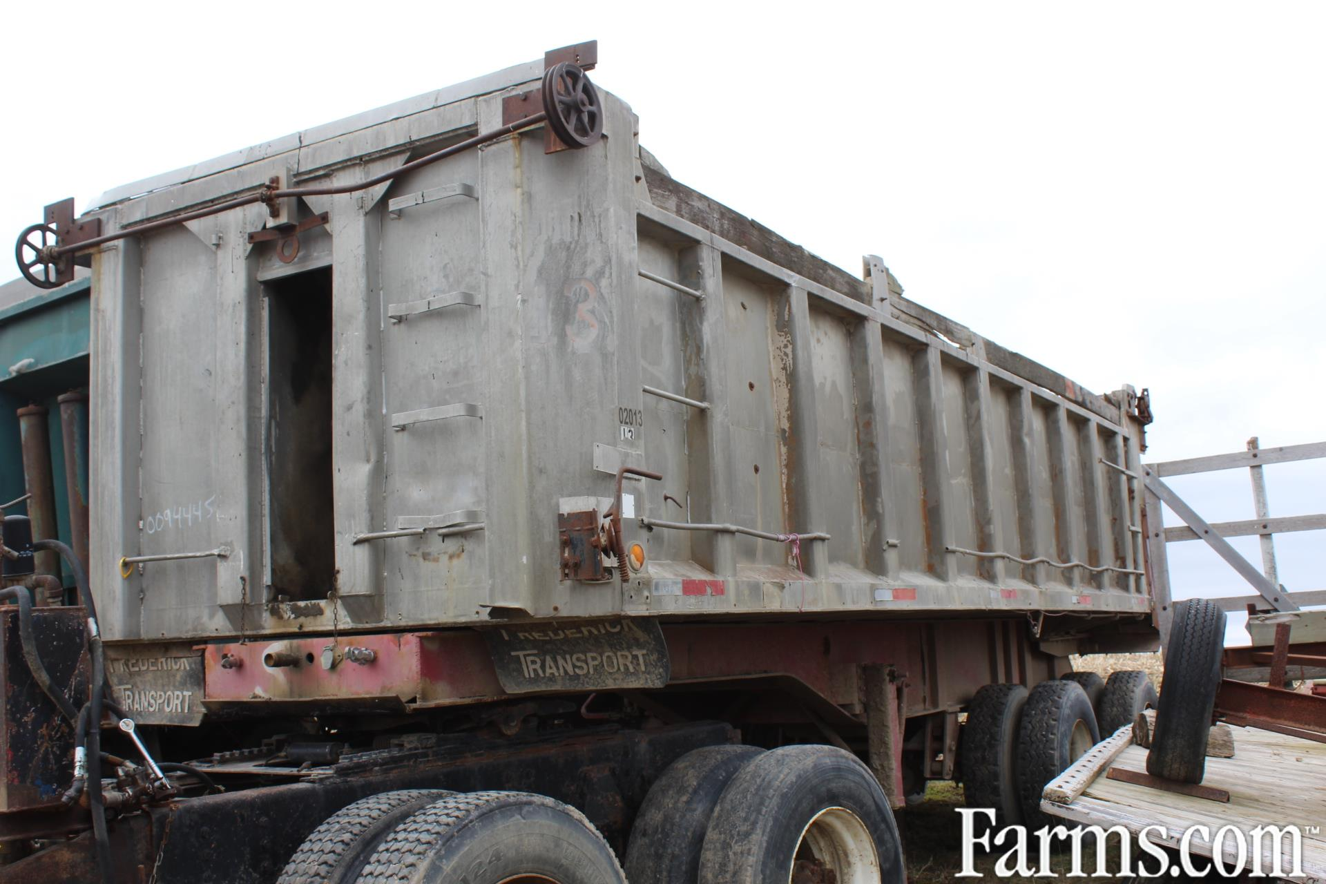 Aluminum 24ft Dump Trailer