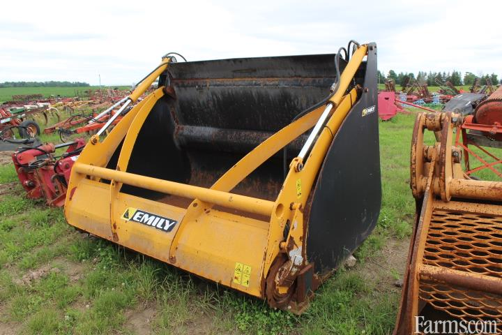 Emily 2M30 Silage Defacer Bucket