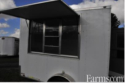 Continental 2018 7X10 Enclosed Trailers