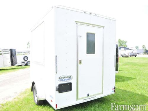 Continental Cargo 2018 VHW710SA Enclosed Trailers