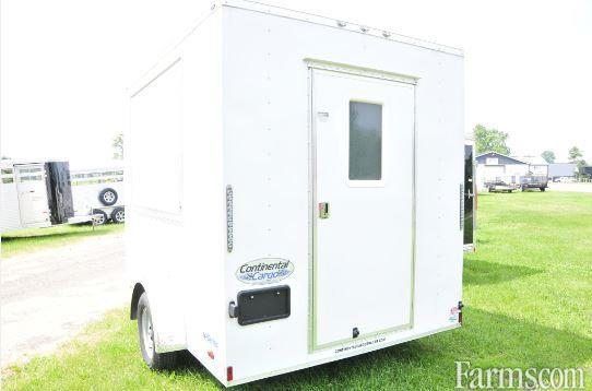 Continental 2018 VHW710SA Enclosed Trailers