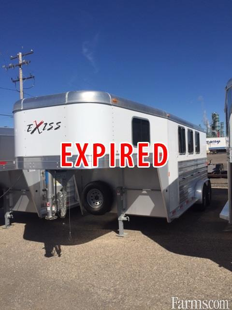 Exiss 2017 Express XT Edition Horse Trailers