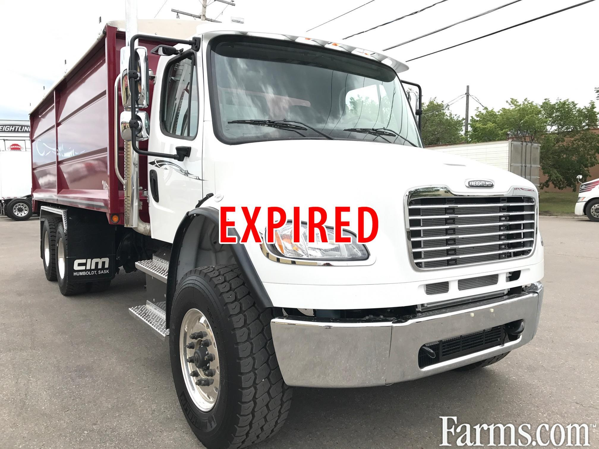 Freightliner 2018 M2 106 Farm / Grain Trucks - Heavy Duty
