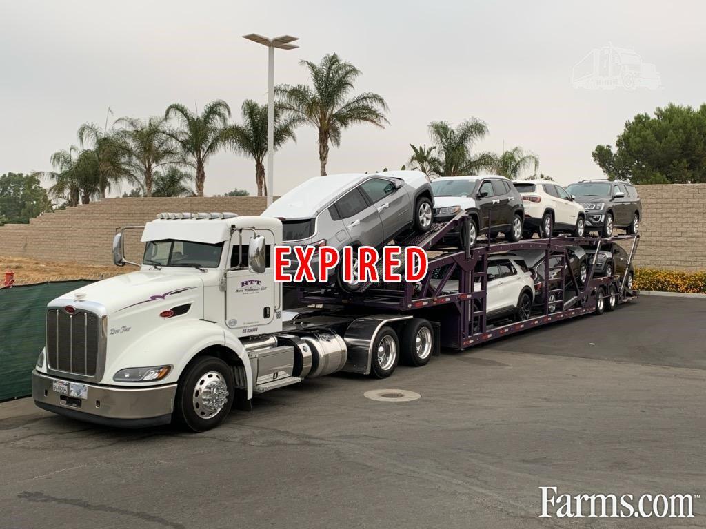 2014 Peterbilt 389 Car Hauler In Riverside, California 92508 for Sale