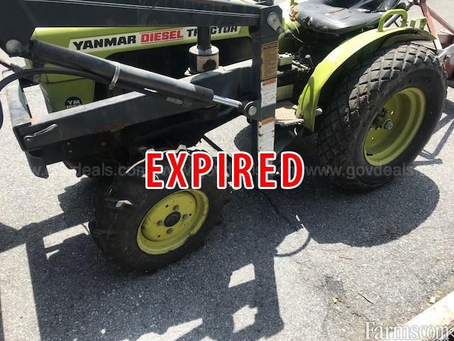 Yanmar Diesel Tractor YM155D For Sale