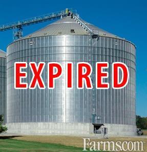 2011 Brock 60' Diameter X 14 Ring 95,000 Bushel Grain Bin for Sale