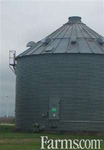 Eaton 30' X 7 Ring 12,000 Bushel Grain Drying Bin for Sale