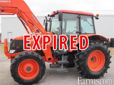 2009 Kubota M100X Diesel Farm Tractor for Sale